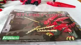 Zoids HMM Sturm Tyrann Model Kit Review (Part 1)
