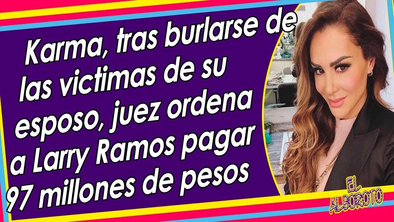 Esposo de Ninel Conde pasa de millonario a endeudado hasta el cuello. Larry Ramos