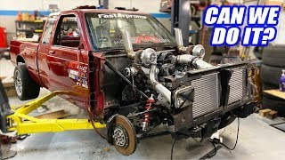 Our Twin Turbo AWD S-10 Is SO CLOSE To Driving! Will We Finish For Cleetus & Cars?