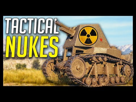 ► Dropping Tactical Nukes! 💣- World of Tanks Gameplay