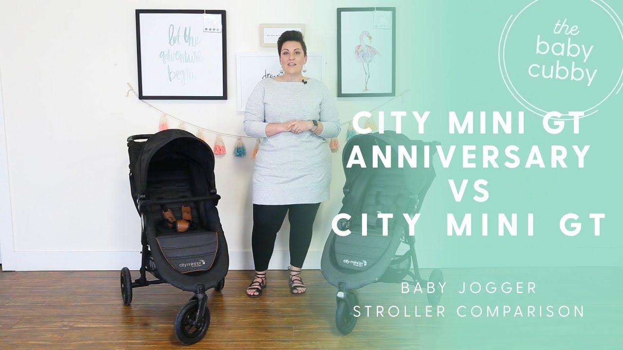 Baby Jogger City Mini GT Anniversary Edititon 2018 vs City Mini GT Stroller  Comparison