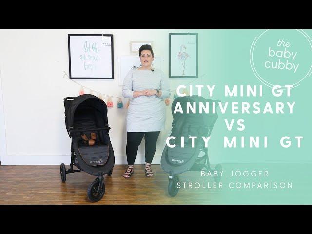 Baby Jogger City Mini Gt Anniversary Edititon 2018 Vs City Mini Gt