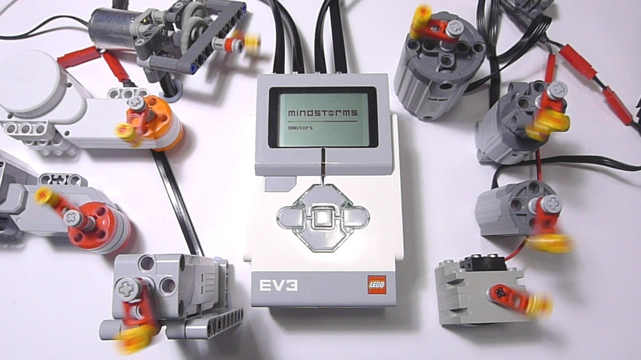 Lego Ev3 Controlling 8 Lego Motors Break The Ev3 Brick Output Ports