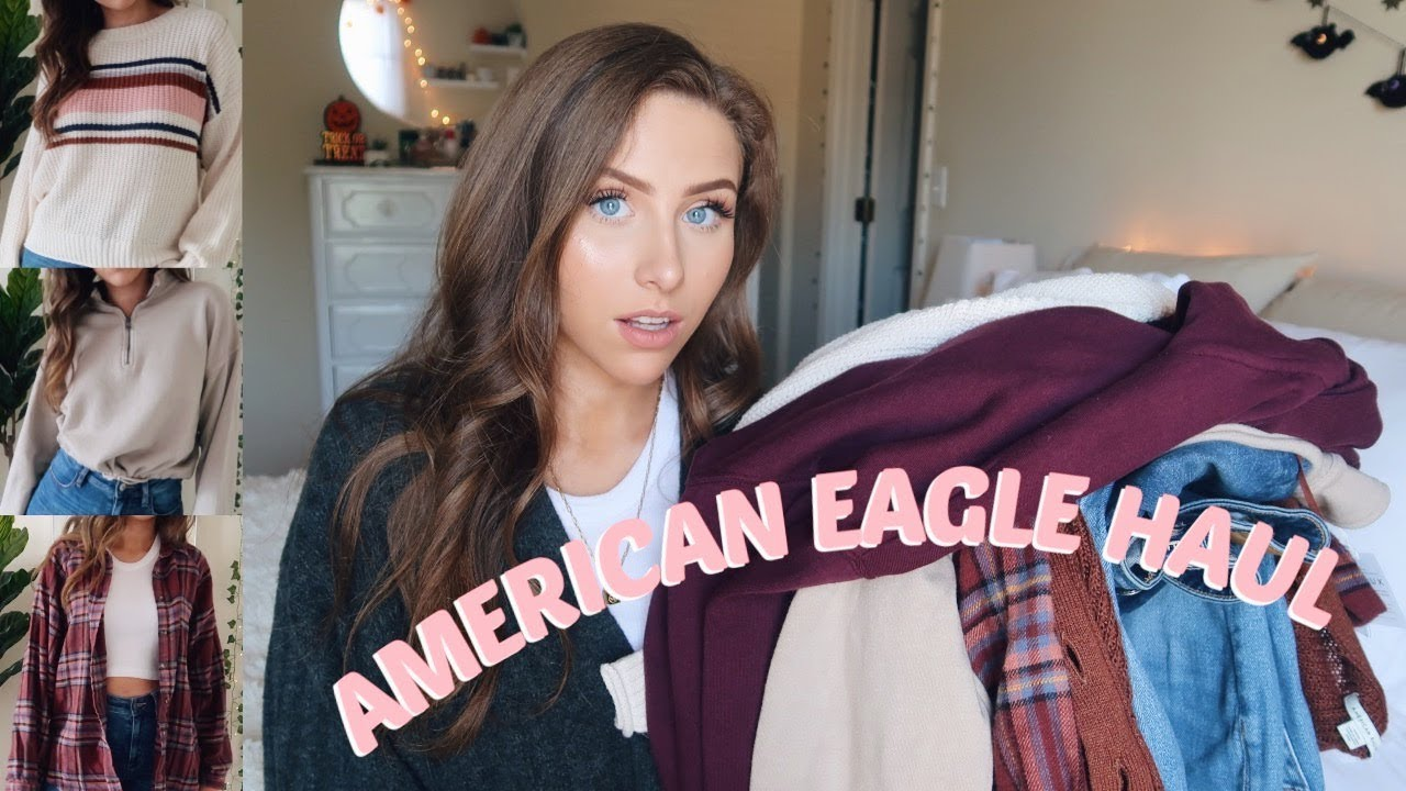 AMERICAN EAGLE FALL TRY ON HAUL