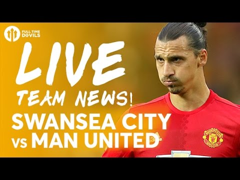 ZLATAN IBRAHIMOVIC AND POGBA! Swansea City vs Manchester United | LIVE STREAM | Team News and More!