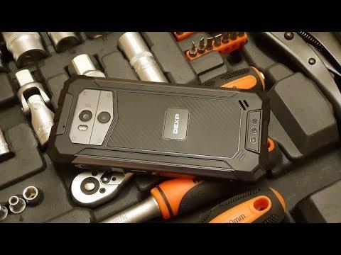 Обзор смартфона DEXP T155 - Беспроводная зарядка + NFC и IP68!!!