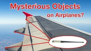 MYSTERIOUS OBJECTS on PLANES!!! STATIC DISCHARGERS explained by Captain Joe