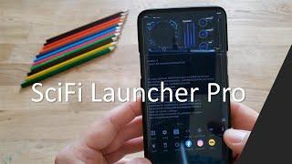 SciFi Launcher Pro screenshot 5