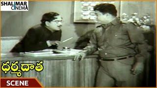 Dharma Daata Movie || Padmanabham Tells Food Items To Allu Ramalingaiah || ANR || Shalimarcinema