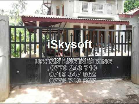Elegant Ushan Engineering   Grill ,Gate Design In Sri Lanka