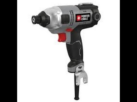 Porter Cable Impact Driver Tool Preview