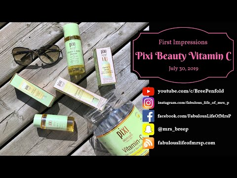 New Skincare ~ Vitamin C Complexion Brightening Products
