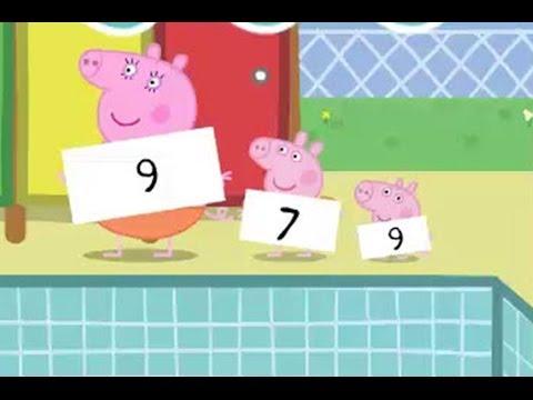 Pappa Pig Diving Game