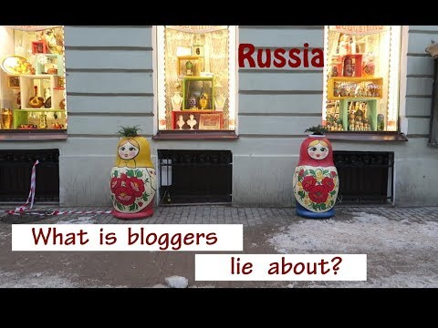 Blogger are lying about Russia