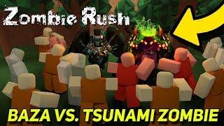 BAZA VS TSUNAMI ZOMBIE • ROBLOX [#20]