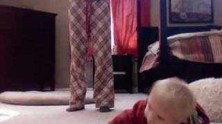 Eli Crawls for the first time