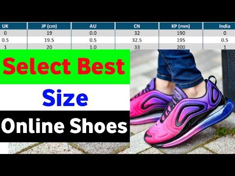 Online Shoes Kaise Mangaye //  Uk Size Ka Matlab Kya Hota Hai // Online Shoes Size