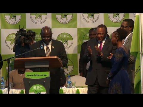 Kenya's Uhuru Kenyatta wins second term with 54.27%: official