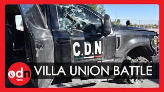 Villa Union: Gun Battle Between Mexican Cartel and Police Leaves 20 Dead