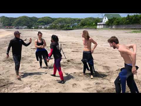 Surf School Japan: 部原, 勝浦, 千葉, In Hebara Chiba ( 15th May 2018)
