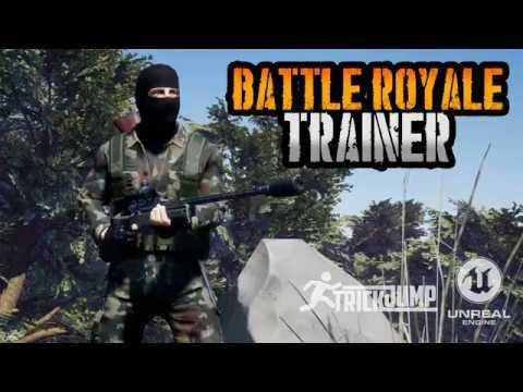 Battle Royale Trainer - игра повышающая ваше мастерство в PUBG