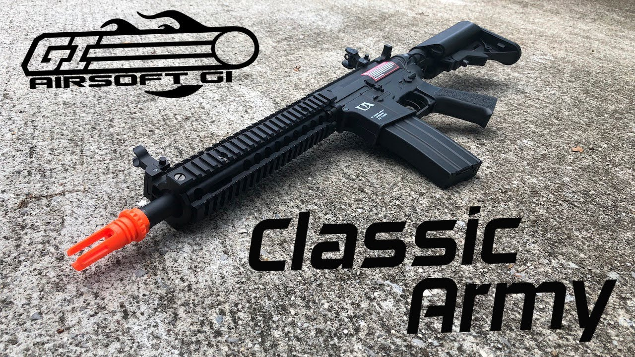Classic Army MK18: The Best Beginner Airsoft Gun?