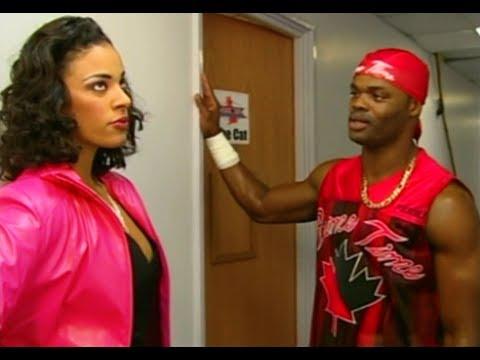 (720pHD): WCW Nitro 11/13/00 - Miss Jones, Elix Skipper & The Cat Backstage