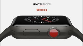 Apple Watch Edition (Series 3) Gray Ceramic - Unboxing
