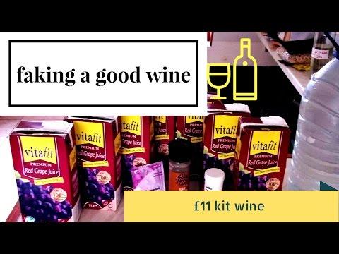 homemade £11 red wine kit 14%