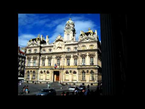 Ville de Lyon - presqu'île & Vieux Lyon - Rhône - France - Mendelssohn - ( allegro ) - HD / HQ