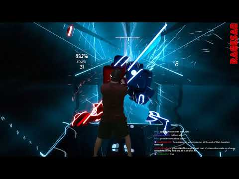 Beat Saber - Through The Fire and Flames (no bombs) - Darth Maul style - The dark side carries on