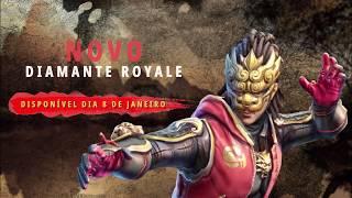Diamante Royale: NERVOS DE AÇO | FREE FIRE