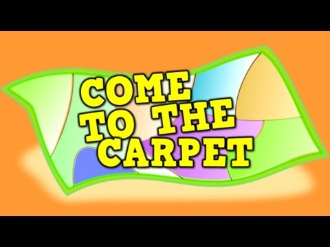 Come to the Carpet(transition song for kids)