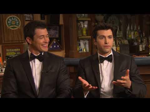Days Of Our Lives Double Wedding || Freddie Smith & Christopher Sean Interview ||  SocialNews.XYZ