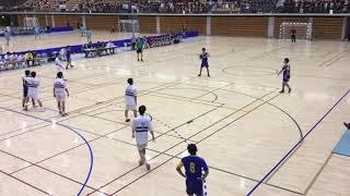 北信越高等学校ハンドボール選手権大会 金沢市工対長岡大手 前半
