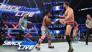 Kevin Owens & The New Day vs. Cesaro, Shinsuke Nakamura & Rusev: SmackDown LIVE, April 16, 2019