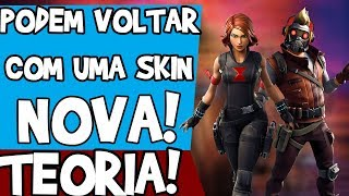 MARVEL'S NEW SKINS IN THE GAME! THEORY-FORTNITE BATTLE ROYALE