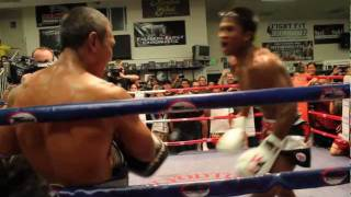 Buakaw Por. Pramuk MPL open workout at Sityodtong LA