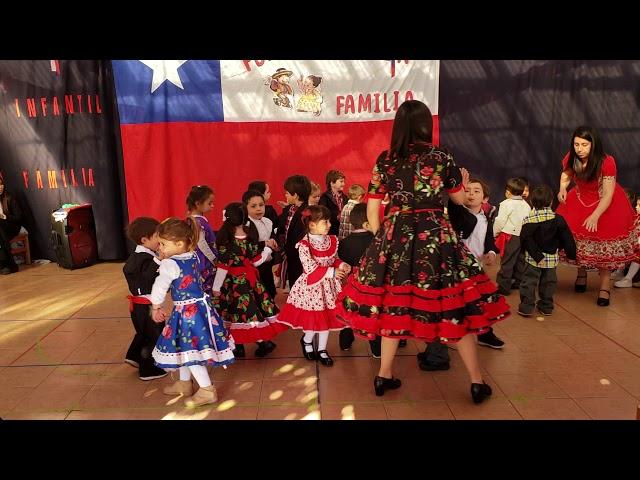Baile La Resbalosa 2018, Sala verde mañana.