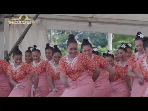Polyfest 2018 - Samoa Stage: Auckland Girls Grammar Ulufale/Entrance