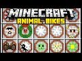 Minecraft ANIMAL BIKES! (Mod Showcase)