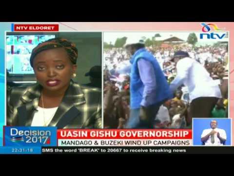 Mandago and Buzeki face off in Uasin Gishu governorship race