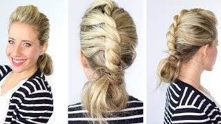 Center Twist + Messy Bun