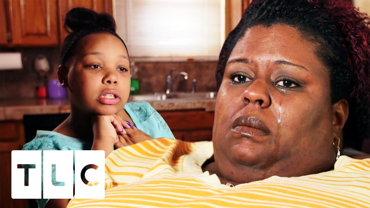 Sad!! 11 Year Old Has To Takes Care Of Her 600lb Overweight Mother!