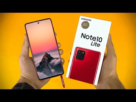 Samsung Galaxy Note 10 Lite OFFICIAL SURPRISE!!!