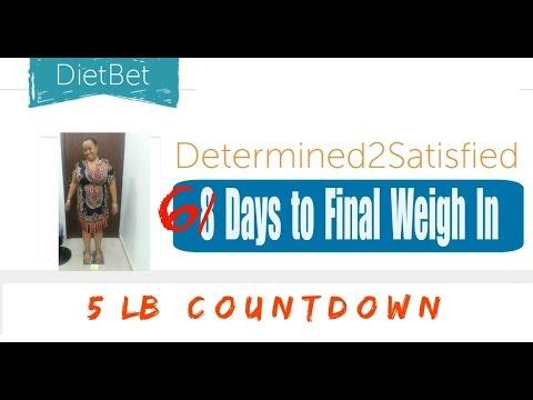 DietBet (6 Days Left) // MyFitnessPal Users...Help! // Weight Watchers Weight Loss Vlog