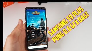 Samsung S9 Plus PUBG Mobile GFX Tool 60FPS HDR Mode/BAGT tool/Exynos 9