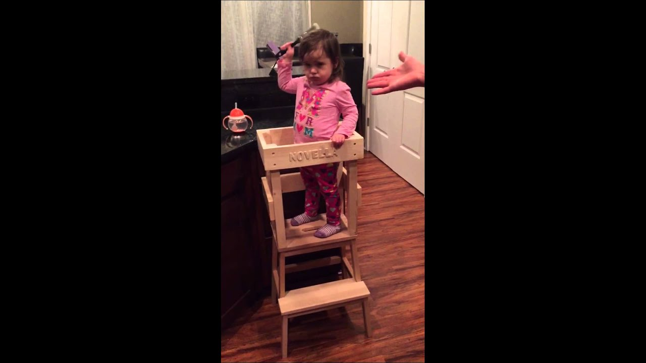 play kitchen for toddler fixtures lowes activity tower - youtube