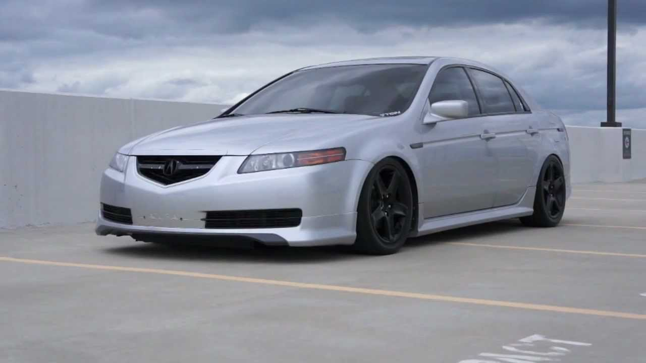 Acura TL From Black To White Short Version YouTube - Rims for acura tl 2006