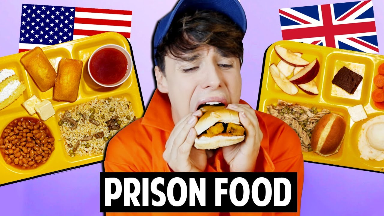 American vs british prison food youtube for About american cuisine